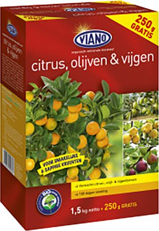 Viano Mediterrán & Citrus növénytáp 1,75 kg 6-5-10+4MgO