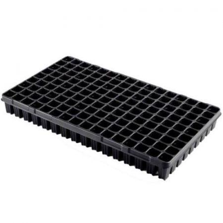 Desch Plantpak szaporító tálca 53x30 cm erdész 144 lyukas, fekete